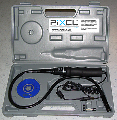 VGA Endoscope-1 in storage case.