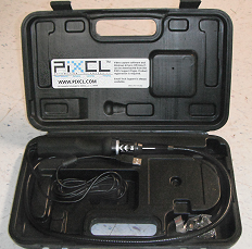VGA Endoscope-2 in storage case.